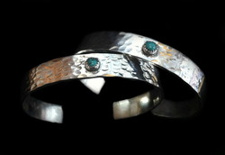 Simple Turquoise Stack Cuff