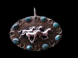 Running Horse Pendant