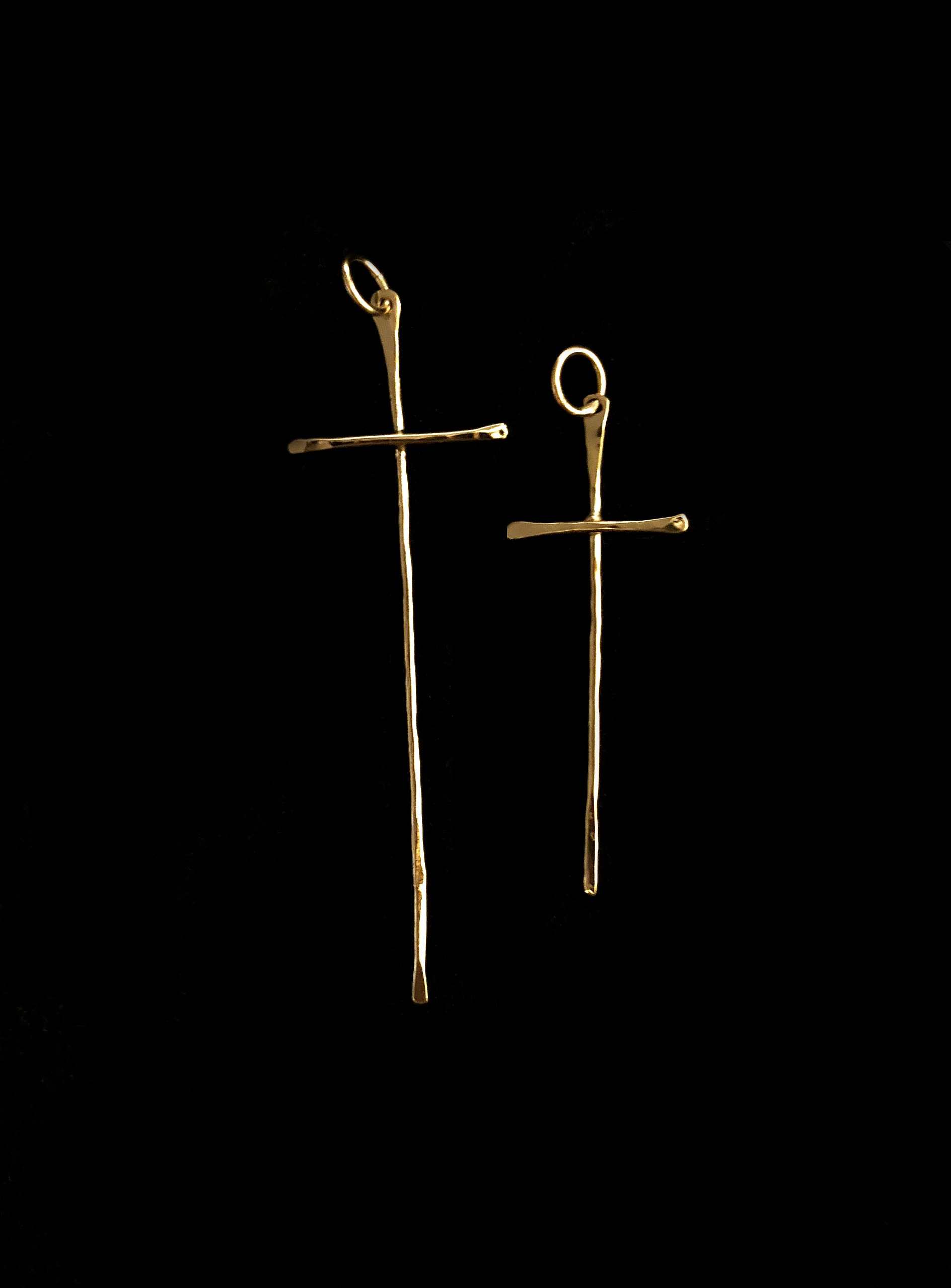 Thin Gold Cross