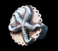Scalloped Starfish Ring