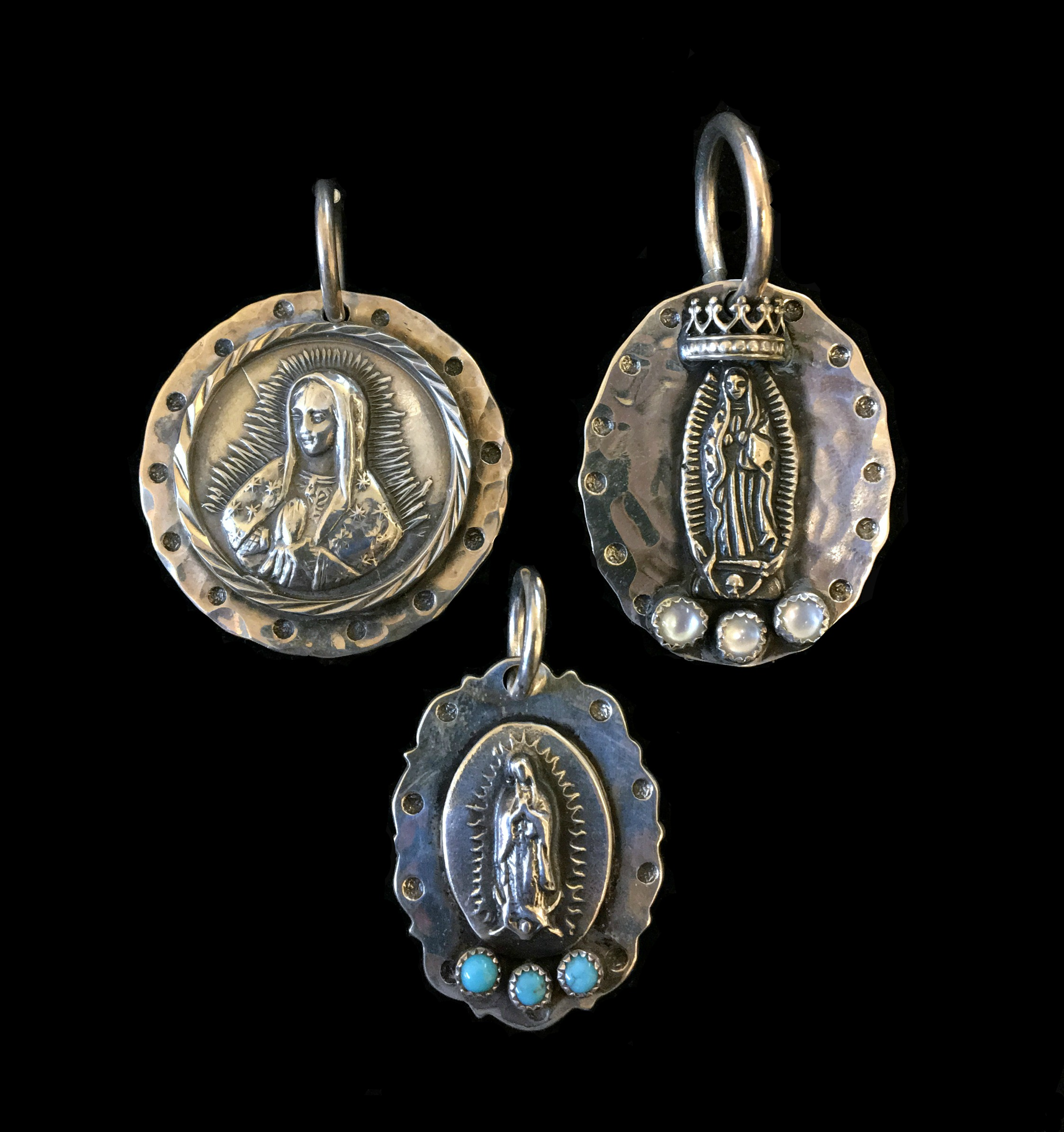 Our Lady of Guadalupe Pendent