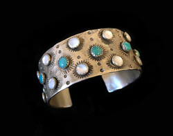 Rays of Pearl and Turquoise