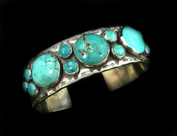 Bubble Turquoise Cuff