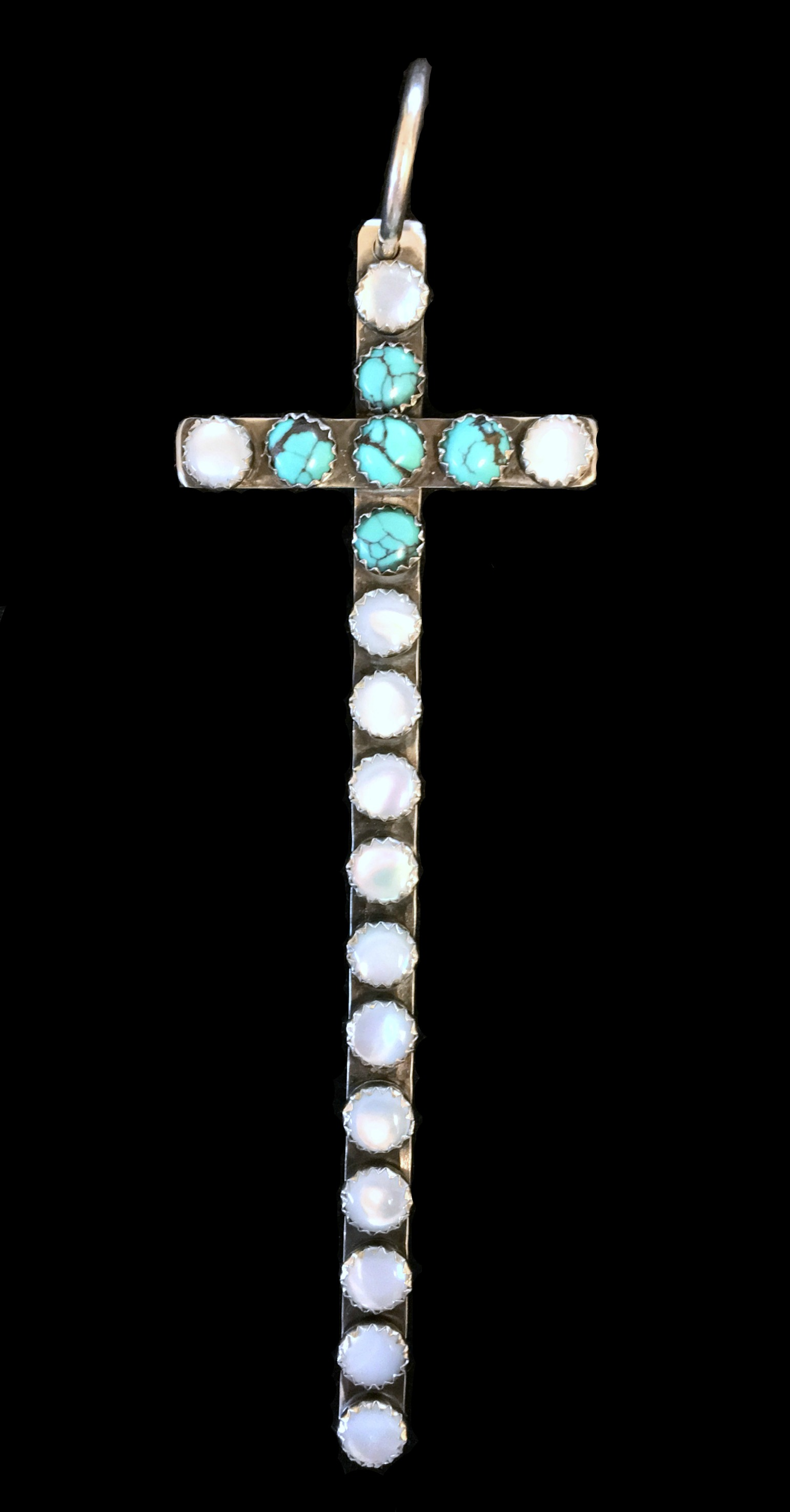 Double Stone Santa Fe cross