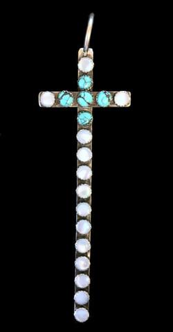 Double Stone Santa Fe cross