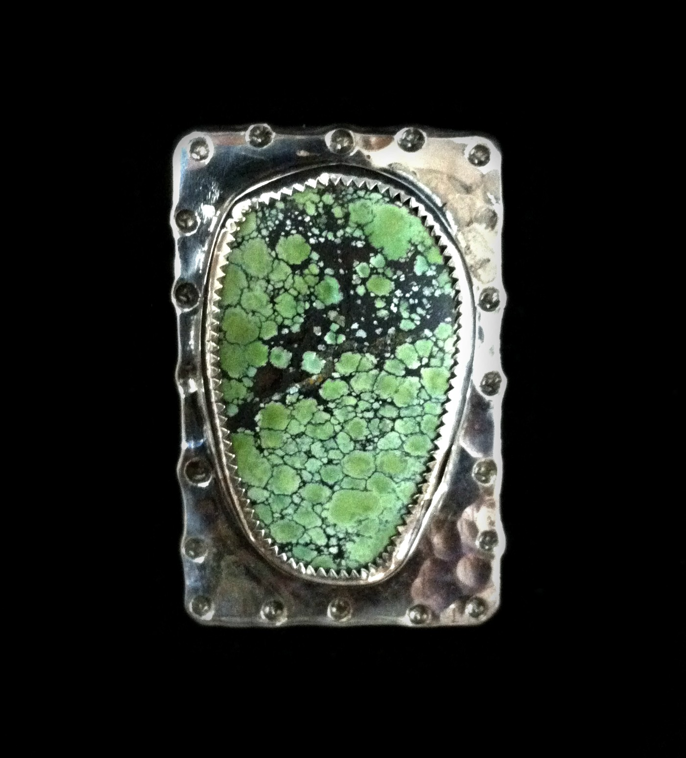 Organic Turquoise Ring