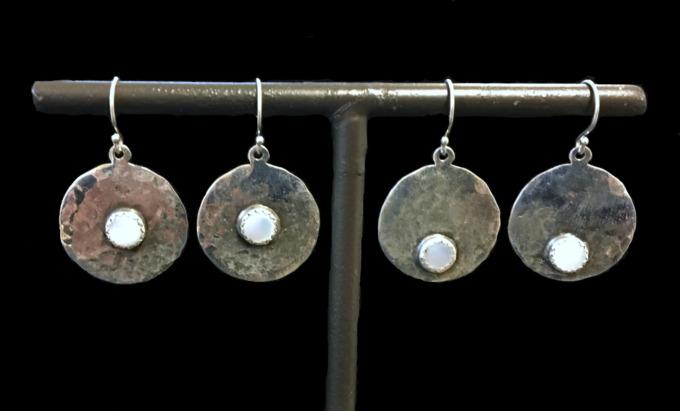 Round Mother of Pearl Dangle