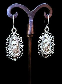 Ornate Guadalupe Earrings