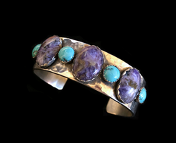 Charoite and Turquoise