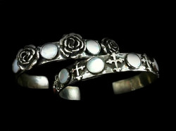 Mother of Pearl Stack Cuffs
