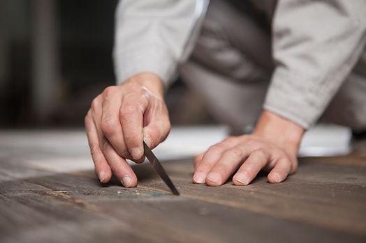 Plan de travail cuisine rénovation valais Suisse crédence artisanal