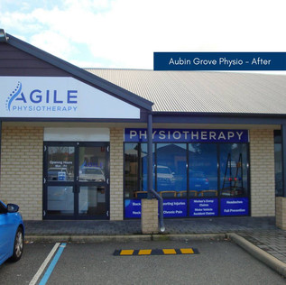 aubin grove physio fit out