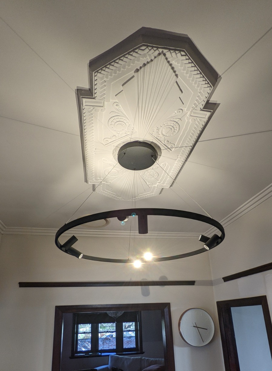 Large Pendant Installed in West Leederville home, Perth.