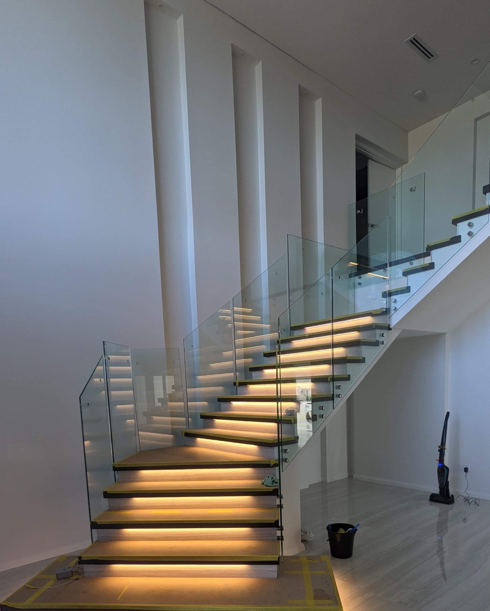 Stair Lights for luxury two storey home