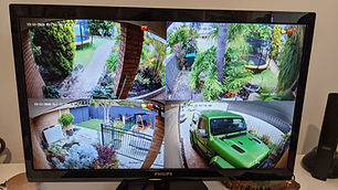 Hikvision Colorvu CCTV Camera Install with Hikvision Monitor