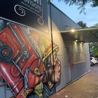 Standby Coffee Shop Mount Lawley - Lighting completed