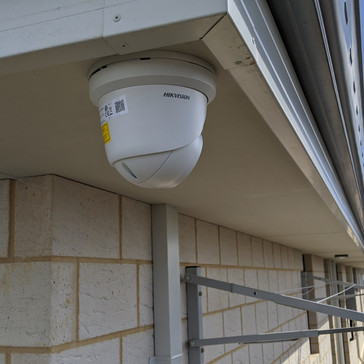 Hikvision Colorvu 4MP. CCTV install by Perth Electrican