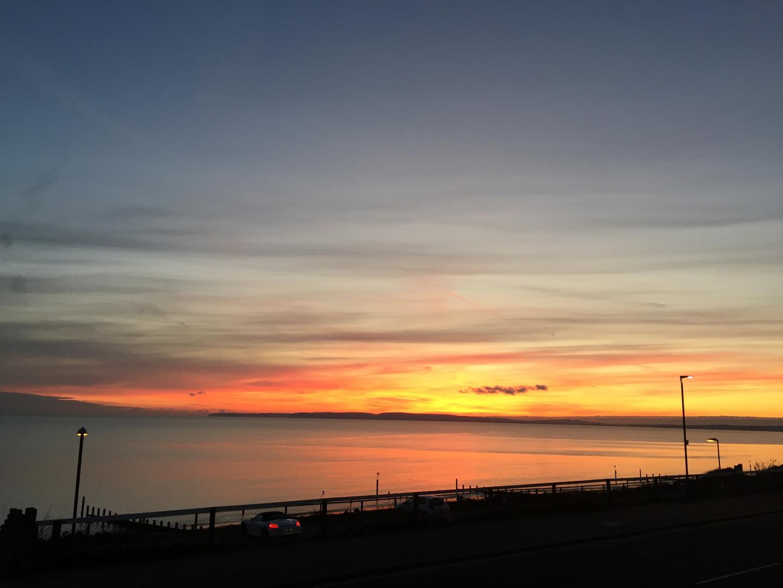 Studland Sunset Dorset