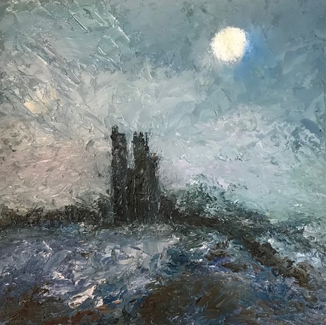 Castle Moon Dorset Coast