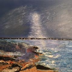 Lovers Moon - Mudeford Sandspit Dorset