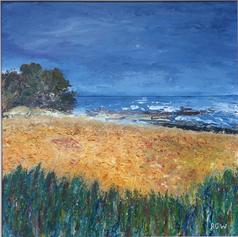 Cornfield and Sea 2