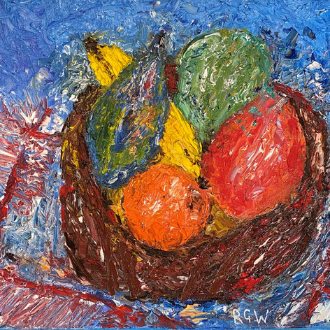 Still Life: Bowl of Fruit