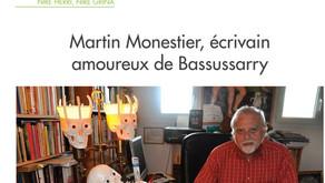 Martin Monestier, écrivain amoureux de Bassussarry