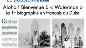 """Aloha ! Bienvenue à """"Waterman"""", la 1ère biographie en français du Duke"""