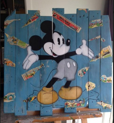 Mickey Bleu