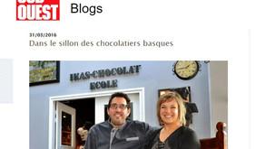 Dans le sillon des chocolatiers basques