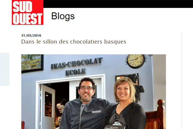 Article Chocolatier Puyodebat