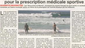 Biarritz, une ville-pilote pour la prescription médicale sportive