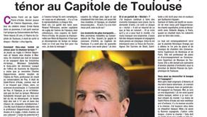 Charles Ferré, enfant du pays, ténor au Capitole de Toulouse