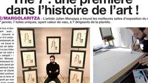 The 7 : une première dans l'histoire de l'art !