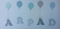 """prénom """"ballons Arpad"""""""