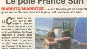 Le Pôle France Surf revient au berceau