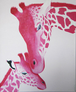 Duo-girafes-rose