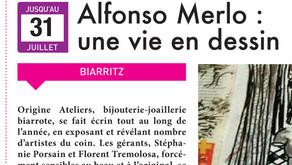 Alfonso Merlo : une vie en dessin