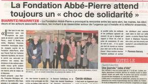 """La fondation Abbé-Pierre attend toujours un """"choc de solidarité"""""""