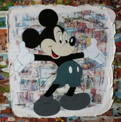 "Mickey ""bras ouverts"""