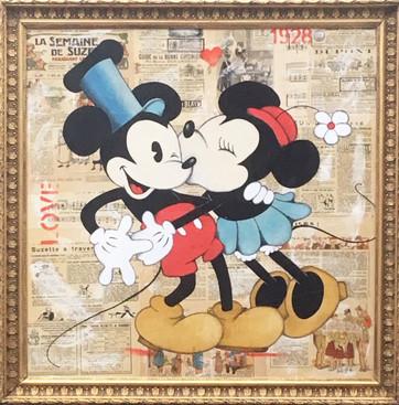 Mickey <3 Minnie