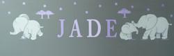 """Eléphants """"JADE"""""""