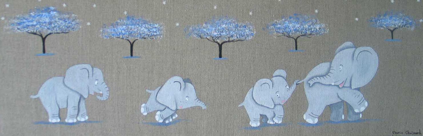 famille éléphanteaux
