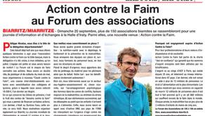 Action contre la Faim au Forum des associations