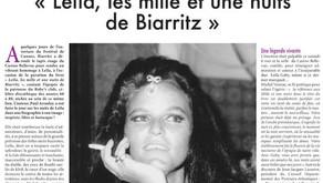 """""""Leïla, les mille et une nuits de Biarritz"""""""