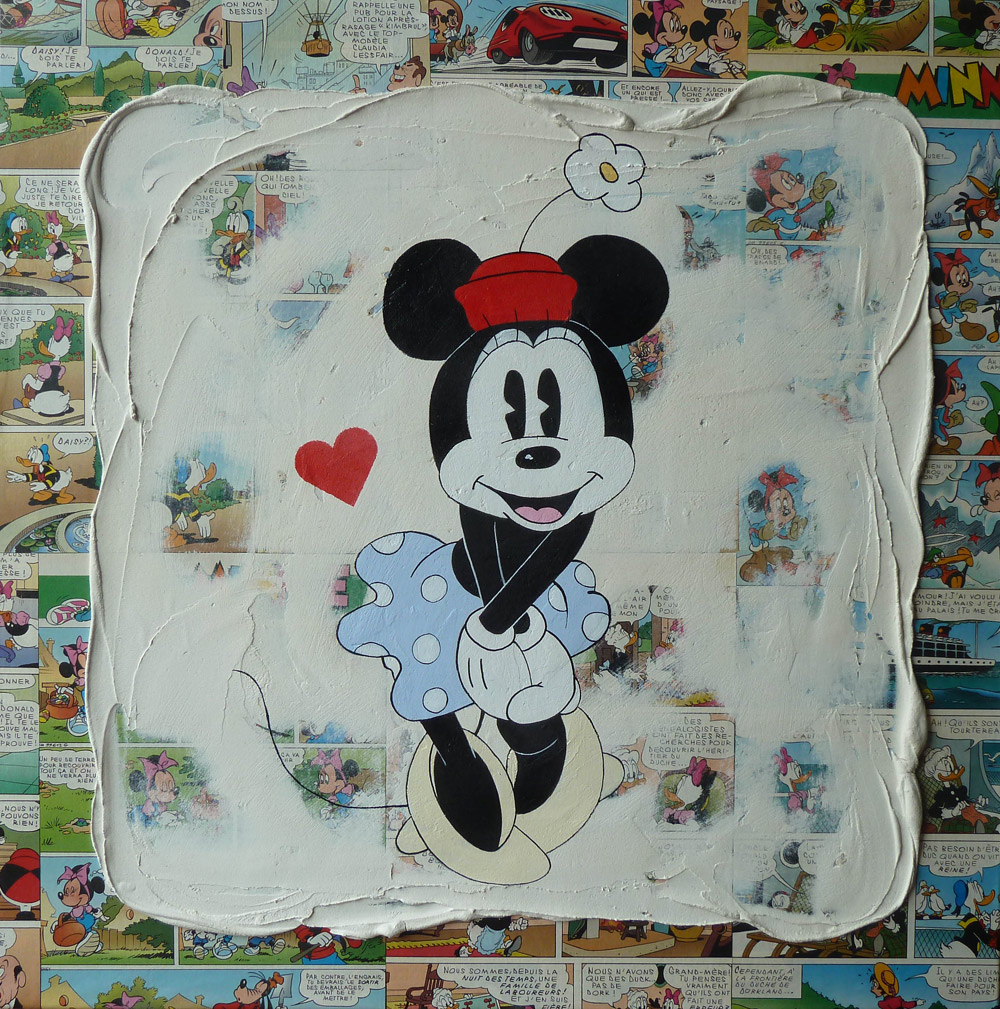 "Minnie ""amoureuse"""