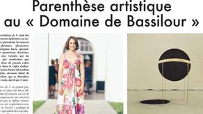 """Parenthèse artistique au """"Domaine de Bassilour"""""""
