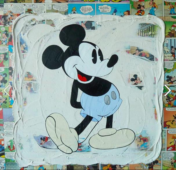"Mickey ""bleu"""
