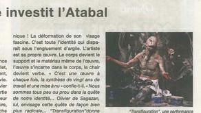La Brigade contemporaine investit l'Atabal