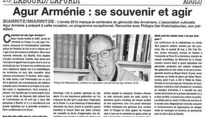 Agur Arménie : se souvenir et agir
